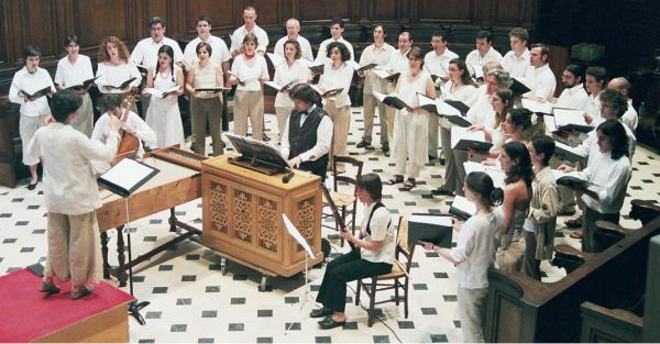 Concert à l'Oratoire du Louvre